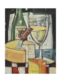 White Wine and Cheese Giclée par Tim Nyberg