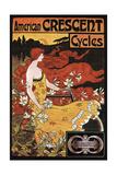 Croissant de cycles Giclée
