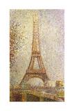 Eiffel Tower by Seurat