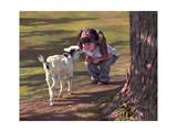 Goat Whisperer Giclée par Bob Byerley