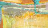 Summer fields Reproduction d'art par Carole Malcolm