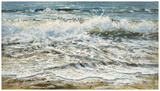 Shoreline study 6 Reproduction d'art par Carole Malcolm