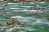 Brook Impression near Thunder Creek Falls with Rocks