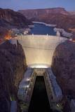 Hoover Dam  near Boulder City and Las Vegas  Nevada