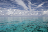 Calm Ocean Water in the Bahamas