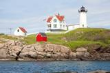 Nubble Lighthouse  Cape Neddick  York  Maine