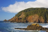 Afternoon Light along Short Beach and Indian Beach  Ecola State Park  Oregon Coast