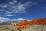 Eroded Landscape in Red Rock Canyon