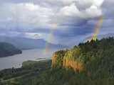 Double Rainbow over Vista House