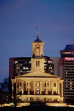 State Capitol of Tennessee  Nashville at Dusk