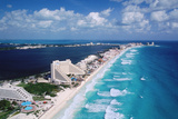Cancun Beach and Hotels
