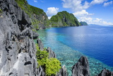 Crystal Clear Water in the Bacuit Archipelago  Palawan  Philippines  Southeast Asia  Asia