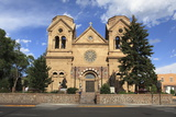 St Francis Cathedral (Basilica of St Francis of Assisi)  Santa Fe  New Mexico  Usa