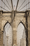 Brooklyn Bridge  New York  United States of America  North America