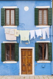 A Colorful House on Burano  Venice  Veneto  Italy  Europe