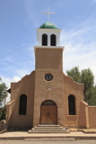 St Josephs Church and Shrine  Cerrillos  Old Mining Town  Turquoise Trail  New Mexico  Usa