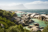 Second Beach at High Tide with Boulders Visible  Boulders Beach National Park  Simonstown