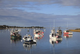Fishing Boats  Harbor  Chatham  Cape Cod  Massachusetts  New England  Usa
