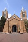 San Felipe De Neri Church  Old Town  Albuquerque  New Mexico  Usa