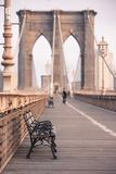 Brooklyn Bridge  New York  United States of America  North America