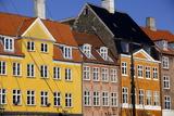 Old Buildings in Famous Nyhavn Harbour Area of Copenhagen  Denmark  Scandinavia  Europe