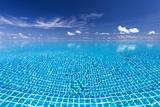 Infinity Pool  Maldives  Indian Ocean  Asia