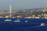 Faith Sultan Mehmet Bridge  Istanbul  Turkey  Europe