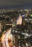 City Skyline  Ikebukuro  Tokyo  Honshu  Japan  Asia