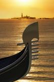 Gondola  Venice  UNESCO World Heritage Site  Veneto  Italy  Europe