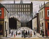 Street Scene (Pendlebury) Giclée par Laurence Stephen Lowry