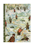 The New Yorker Cover - April 23  1955