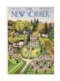 The New Yorker Cover - May 12  1945