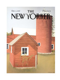 The New Yorker Cover - October 5  1987