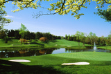 Golf Course  Congressional Country Club  Potomac  Montgomery County  Maryland  USA