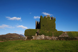 Ballycarberry Castle  Built Circa 16th Century  Near Caherciveen  Ring of Kerry  County Kerry
