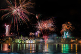 Fireworks on New Year's Eve  Reykjavik  Iceland