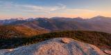 Evening Light on the Adirondack High Peaks  Adirondack Mountains  Adirondack Park