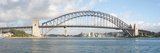 View of Sydney Harbour Bridge from Sydney Opera House  Sydney  New South Wales  Australia