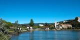 Lake Merritt in Springtime  Oakland  California  USA