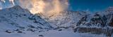 Snowcapped Mountain  Annapurna Base Camp  Annapurna Range  Himalayas  Nepal