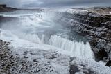 Gullfoss Waterfall  (Golden Falls)  Iceland
