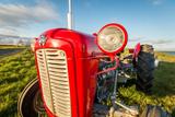 Farm Tractor  Flatey Island  Borgarfjordur  Iceland