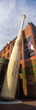 Giant Baseball Bat Adorns Outside of the Louisville Slugger Museum and Factory  Louisville