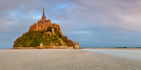 Cathedral on an Island  Mont Saint-Michel  Manche  Basse-Normandy  France