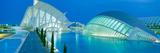 L'Hemisferic Planetarium and El Palau De Les Arts Reina Sofia  Ciutat De Les Arts I Les Ciencies