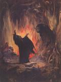 Sorceror (cover art for Eerie 2)
