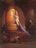 Egyptian Princess (cover art for Eerie 23 and Creepy 92)