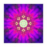 Crown Chakra Energy Mandala