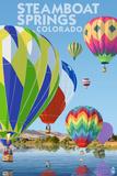 Steamboat Springs  Colorado - Hot Air Balloons