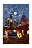 Austin  Texas - Skyline at Night